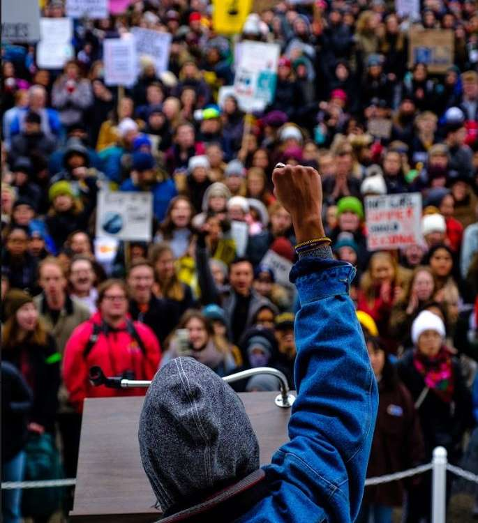 Climate Rally Photo