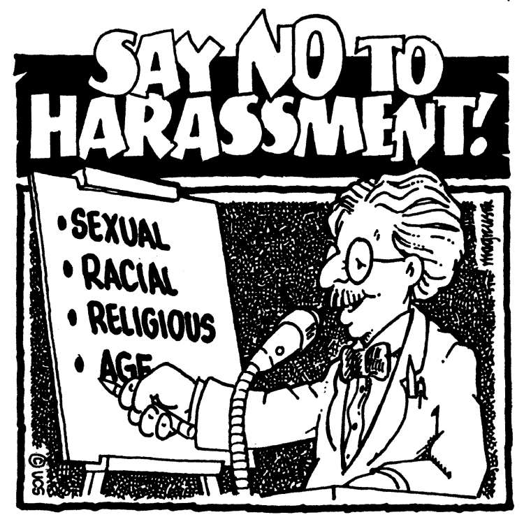 Say No to harassment