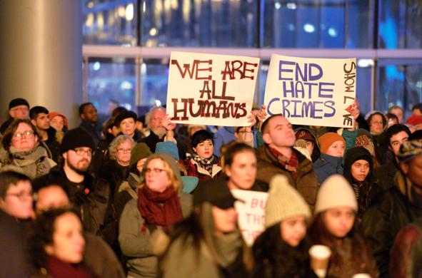 No racism, no hate