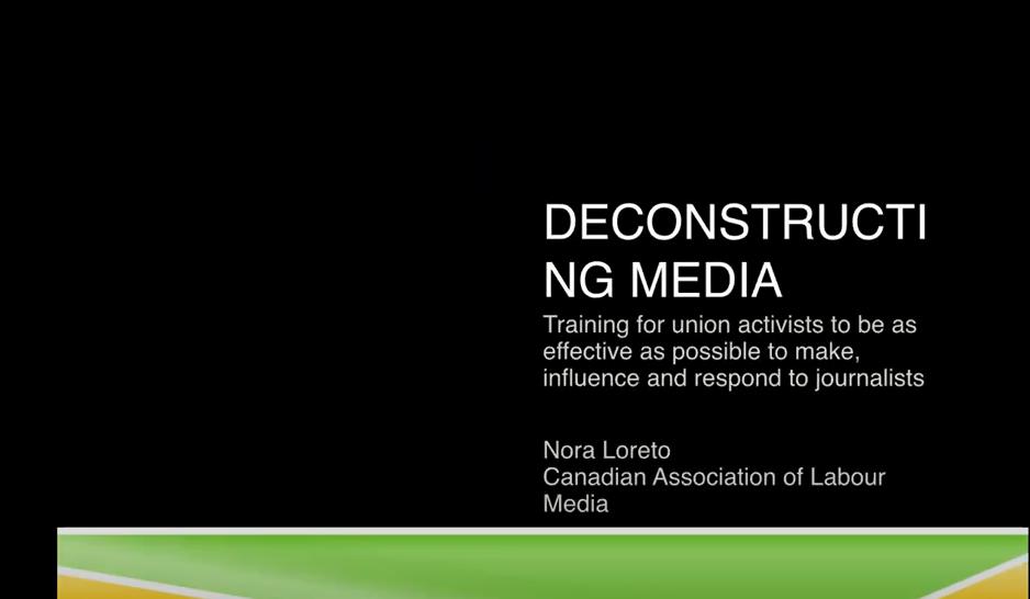 deconstructing media slide show cover