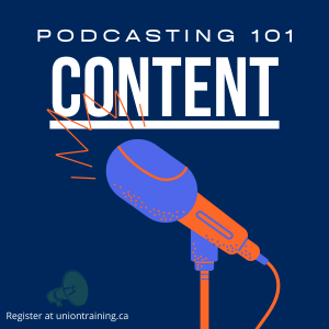 podcasting content